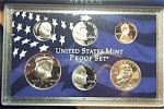 2005-s C/n Clad U.s. Treasury Deep Cameo Gem 6-coin Minors Only Proof Set 6 Coins