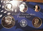 2008-s C/n Clad U.s. Treasury Deep Cameo Gem 5-coin Minors Only Proof Set 5 Coins