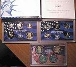 2008-s C/n Clad U.s. Treasury Deep Cameo Gem Proof Set In Original Box With Coa 14 Coins