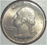 1979-d Washington Quarter Cut From Mint Set Coins