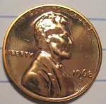 1968-s Lincoln Brilliant Proof Cent Red Coins