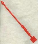 Cp Hotels Red Swizzle Stick