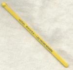 Hotel Riviera Las Vegas Swizzle Yellow Stick