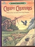 Creepy Creatures Coloring Book - Animals