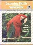 Learning Skills Reproducible Workbook Level 2