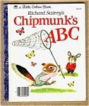 Chipmunk's Abc - Richard Scarry