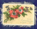 Victorian 2 Sided Fringe Christmas Card