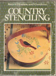 Better Homes And Gardens Country Stenciling