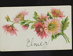Elmer Embossed 1910 Postcard.
