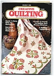 Creative Quilting Magazine - Holiday 1986 Quilt Quilts