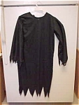 Halloween Black Dress For A Witch Or Ghost