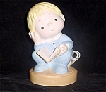 Tender Tot - Boy On Chamber Pot Figurine