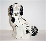 Staffordshire Style Spaniel Large Mantle Dog