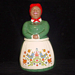 The Real Aunt Jemima Pennsylvania Dutch Cookie Jar