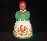 The Real Aunt Jemima W/ Rooster Cookie Jar