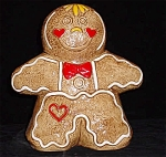Gingerbread Boy / Girl Turnabout Cookie Jar