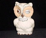Traditional Styled Winking Owl Cookie Jar