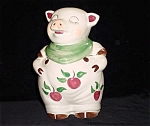 Shawnee Smiley Pig With Apples Full Size Cookie Jar