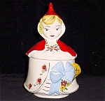 Original Decal Red Riding Hood Dresser / Grease Jar