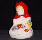 Original Hull Decal Red Riding Hood Standing Pitcher