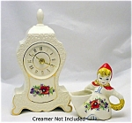 Hull Poppy Red Riding Hood Acc Shelf Table Mantle Clock