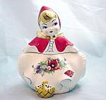 Hull Style Little Red Riding Hood Cracker Jar