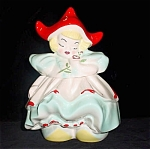 Exclusive Regal China Dutch Girl Cookie Jar