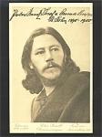 Autographed Postcard Actor Peter Rendl 1910