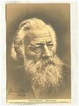Signed Postcard Actor Thomas Rendl Oberammergau 1913