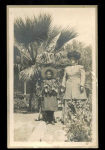 Photo Postcard Of Woman & Girl C.1910