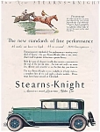 1927 Stearns-knight Motor Car Print Ad