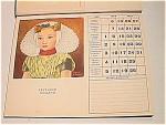 1951 Dutch Fine Art Calendar And Postcards With Mailer
