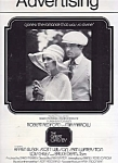 1974 Great Gatsby Movie Advertising/press Book, Robert Redford, Mia Farrow