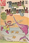 Rare Mcdonalds 1971 Ronald Mcdonald Comic Book No. 4