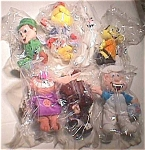 1997 General Mills Breakfast Babies Set Of 7 Bean Bag Toys, Premium