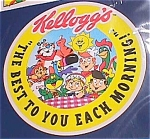 Kellogg's Cereal Limited 4-piece Breakfast Set, 1996 Kelloggs Premium