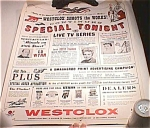 1959 Nbc Television Poster Featuring Westclox Watches