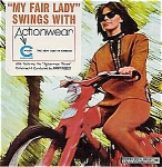 My Fair Lady Swings With Actionwear Advertising 6-song Promo Ep Record