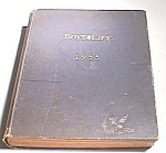 1955 Boys Life Magazines, Bound In Hardcover Book