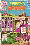 Challengers Of The Unknown #s-25 , Super Dc Giant Comic Book , 1971, Zeppelin Ad