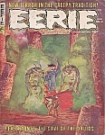 Eerie Magazine #6 , Comic Book , Nov. 1966, Gray Morrow Cover Art, Horror