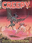 Creepy Magazine #14 , Comic Book , 1967, Gray Morrow Cover Art, Horror