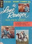 The Lone Ranger, #1, Gold Key Comic Book, 1956