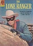 The Lone Ranger, #145, Dell Comic Book, 1962