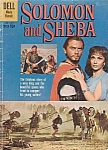 Solomon And Sheba, Dell Comic Book #1070, 1959, Yul Brenner With Hair