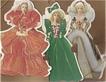 1995 Hallmark Holiday Barbie Deluxe Christmas Card Set