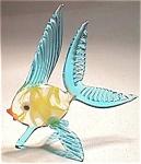 Blown Art Glass Fish Figurine - Beautiful