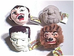 Universal Monsters Screamers Set Of 4 Screaming Heads Monster