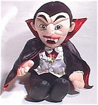 Ltd. Ed. Dracula Bean Toy W/rare Embroidered Logo Universal Monster