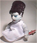 Ltd. Ed. Bride Of Frankenstein Bean Toy W/rare Embroidery Logo Universal Monster